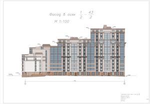 Организация возведения монолитного жилого здания переменной этажности в микрорайоне ВАО г.Москвы