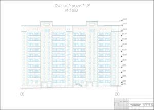 Организация строительства кирпичного 10-этажного жилого здания в комплексной застройке района Октябрьский г.Новосибирска