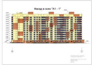 Организация 12 этажного жилого здания из сборных ЖБК