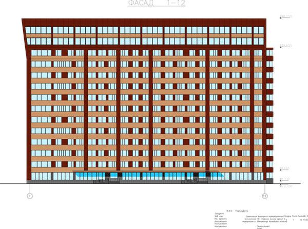 Организация возведения трехсекционного монолитного 14-этажного жилого здания в микрорайоне г. Звенигорода Московской области