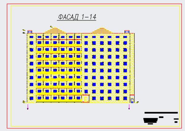 9-ти этажная гостиница из монолитного железобетона
