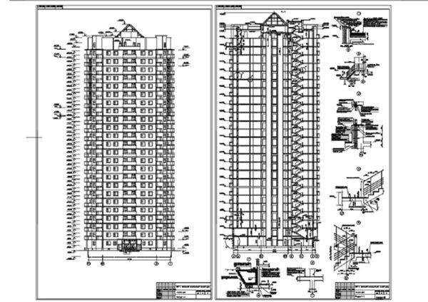 25-ти этажный жилой монолитный дом